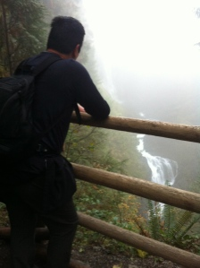 Dad at the Middle Falls