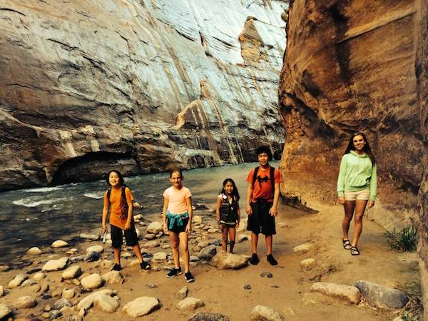 Hiked the Narrows in Zion