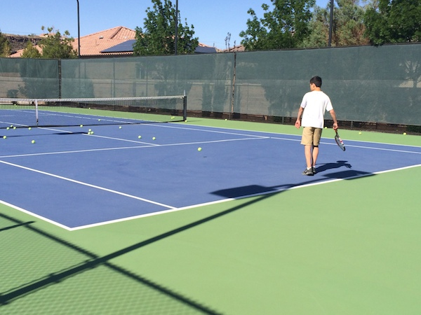 Tennis Lessons at Summit Athletic Club