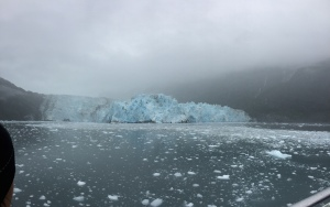 Glacier view from the Ferry