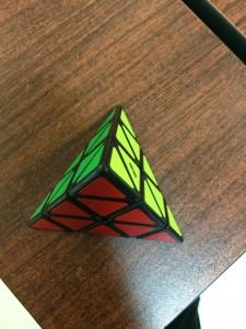 My solved Pyraminx
