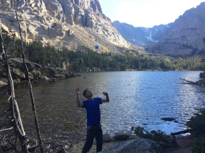 Offstring YoYoing at Rocky Mountain National Park last weekend